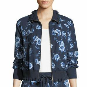 Kate Spade Prairie Rose Floral Ruffle Jacket XL
